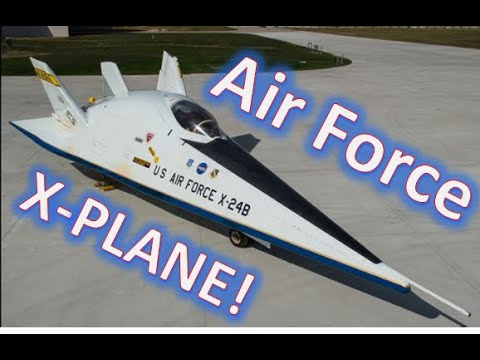 X-24B test jet at USAF Museum