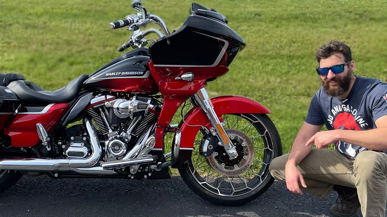 Test Riding the Most Expensive Harley Davidson (21 CVO RG)