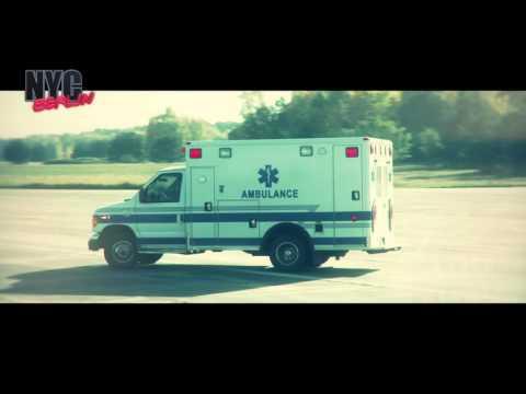 US Ambulance Ford E-350, US Ambulanz, amerikanischer Krankenwagen