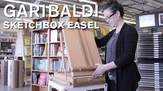 Garibaldi Sketchbox Easel - Opus Art Supplies