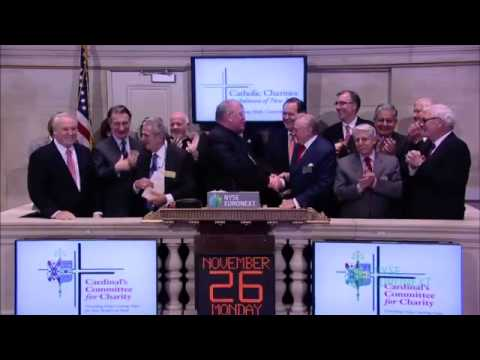 NYSE Hosts Annual Breakfast for the Wall Street division of the Cardinal s Committee for Charity