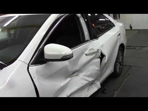 Как быстро восстановить Камри. Body repair after an accident.