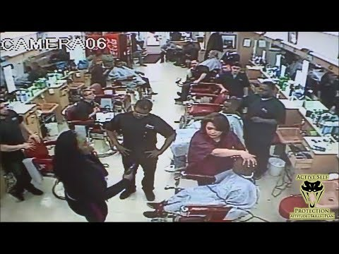 Irate Mom Draws Down on Son's Barber |...