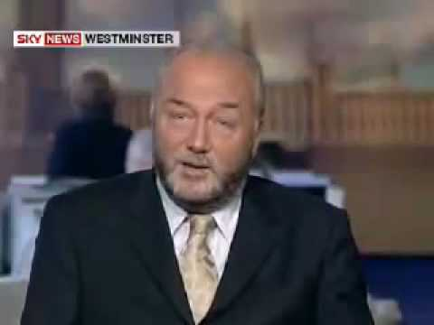 george galloway owns sky news..again