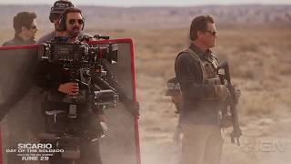 Sicario Day of the Soldado - Going to War Featurette