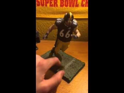 Pittsburgh Steelers Alan Faneca series 16 mcfarlane
