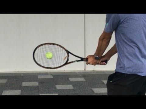 テニス、両手バックハンドのスイングの仕方 基本的な両腕の動き 窪田テニス教室