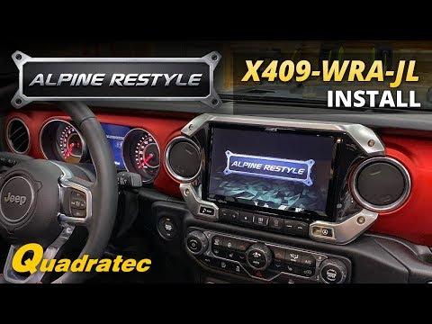 Alpine X409-WRA-JL 9