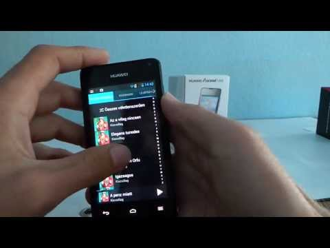 Huawei Ascend Y300 okostelefon bemutató videó | Tech2.hu