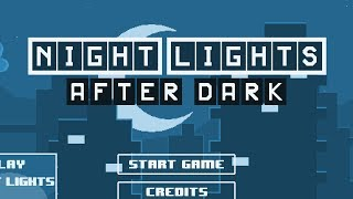 Night Lights After Dark Level 1-15 Walkthrough