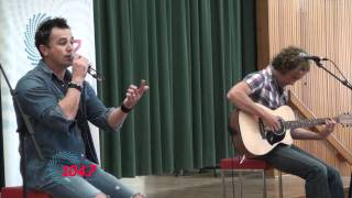 104.7 Canberra: Shannon Noll LIVE at St John Vianney's Primary School, Waramanga, ACT