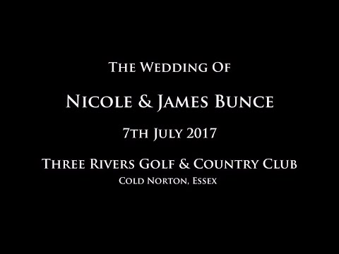 Mr & Mrs Bunce Wedding Day