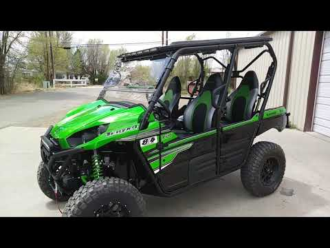 "2018 Teryx 4, 814 Shocks, 30"" BFG KM2 tires, ProBox top and much more!"