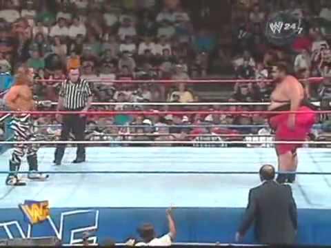 Yokozuna vs Shawn Michaels - RAW - 19-08-96 - Full Match