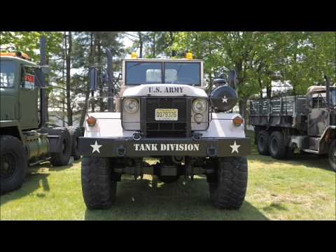MILITARY COLLECTORS VEHICLE SHOW AND SWAP MEET PART 3  NEW JERSY 2012.wmv
