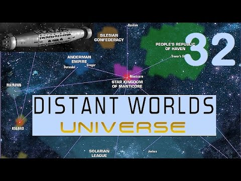 Distant Worlds Universe | Let's Play - 32 - Controlling AI Fleets