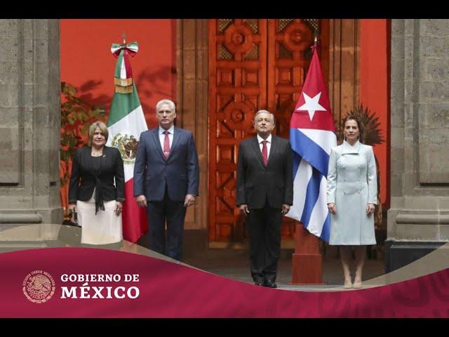 Visita oficial del presidente de la República de Cuba, Miguel Mario Díaz-Canel Bermúdez