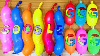 Making GLOSSY Slime with Funny Balloons - Satisfying Slime video #1469