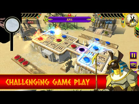 Mystic Game of UR – Ancient Egypt (3d Board Game) – Gameplay Trailer