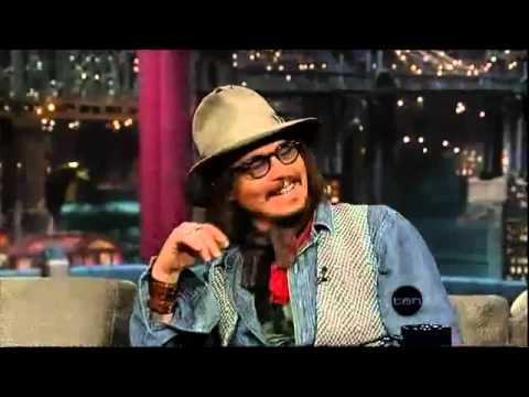 Johnny Depp 2 (Letterman)