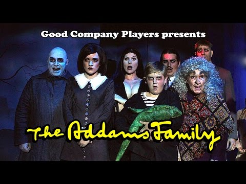 The Addams Family at Roger Rockas Dinner Theater