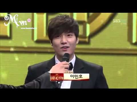 Vietsub Lee Min Ho SBS Drama Awards   YouTube