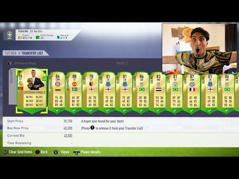 SECRET TO MAKING 500,000 COINS IN A DAY.... (FIFA 18 Random Facts)