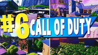 TOP 6 Best CALL OF DUTY Creative Maps In Fortnite | Fortnite COD Map CODES