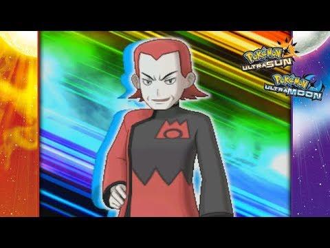 Pokemon Ultra Sun and Ultra Moon - Maxie Battle! (Team Rainbow Rocket)