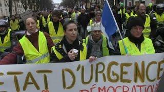 Frankreichs Gelbwesten wieder auf der Straße