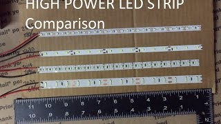 2016 led strip test 3014 2835 7020 5630