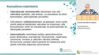 Suomen kansallinen ohjelma | Tarja Mankkinen, Sisäasiainministeriö
