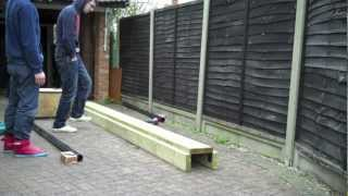 How To Make An Inline Skate Grind Box April 2012