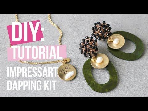 Sieraden maken: ImpressArt dapping kit ♡ DIY