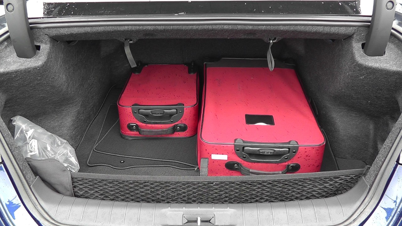 3 Piece Luggage Test 2017 Nissan Maxima Youtube
