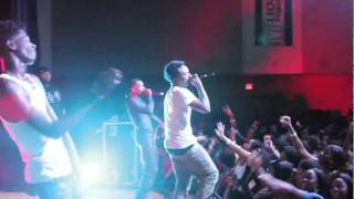 TRAVIS PORTER PERFORMS NEW HIT SINGLE AYY LADIES AT UNC