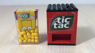 How to build Mini LEGO Candy Machine Tic Tac