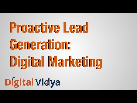 Proactive Lead Generation: Digital Marketing