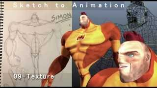 Sketch to Animation - Part 09 of 13 (Texture)