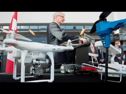 Garneau places strict regulations on drone operations