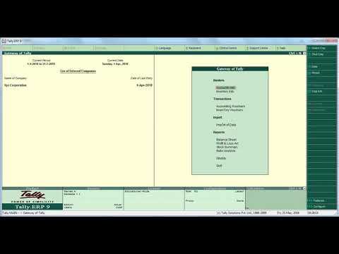 Accounting Voucher -Part 5 l Sales Invoice l Tally l Educational Videos.