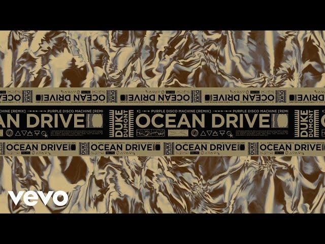 Duke Dumont - Ocean Drive (Purple Disco Machine Remix) Visualiser