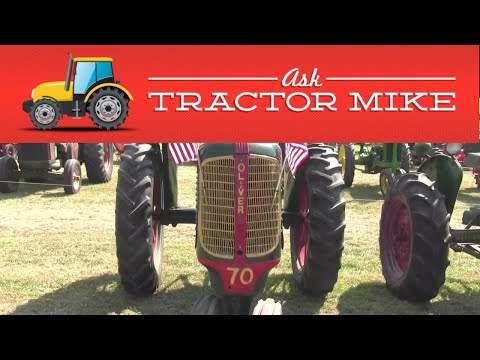 The Best Tractor Ever Was An Oliver!