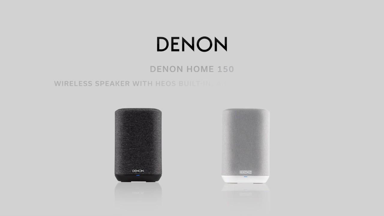 150 Compact Wi-Fi Speaker (Black) video thumbnail