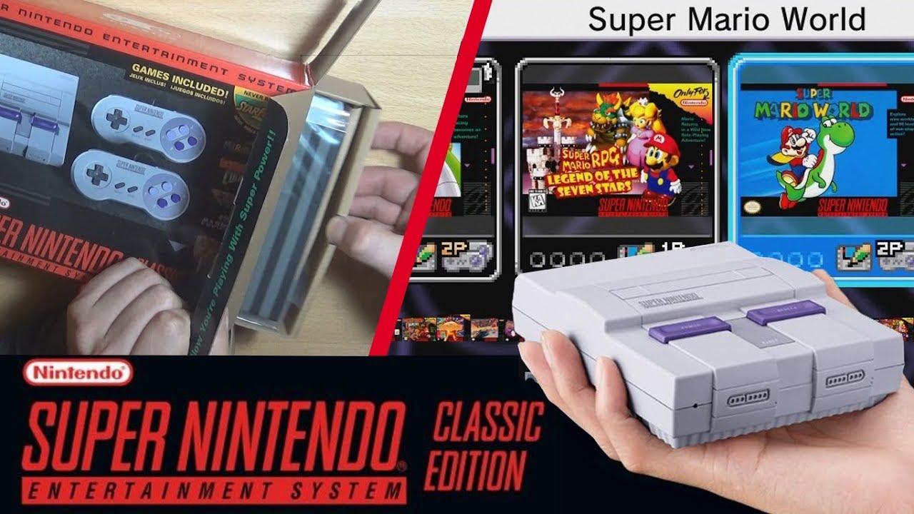 Unboxing Y Gameplay Super Nintendo Mini Snes Mini Descubriendo