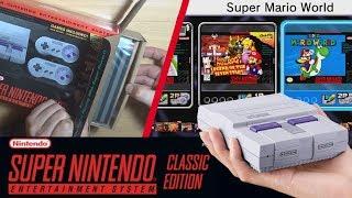 UNBOXING y GAMEPLAY Super Nintendo MINI (SNES Mini) | Descubriendo el Juego Exclusivo 👀 - ZetaSSJ