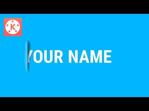 How to make a CUT OUT TEXT EFFECT in Kinemaster | KineMaster Tutorials | Tech Share Tamil