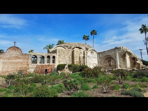 San Juan Capistrano Mission tour