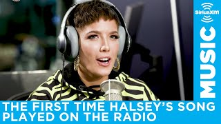 Halsey talks hearing her music on radio for first time