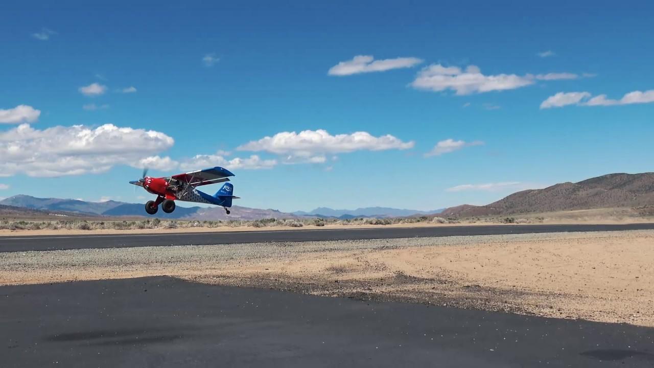 Kitfox STi Landing and Takeoff - STOL